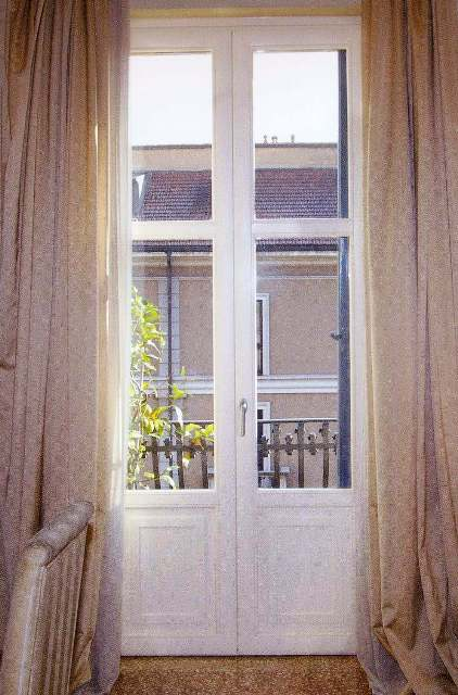 Finestre in legno e alluminio tecnofinestra - Porte con bugne ...