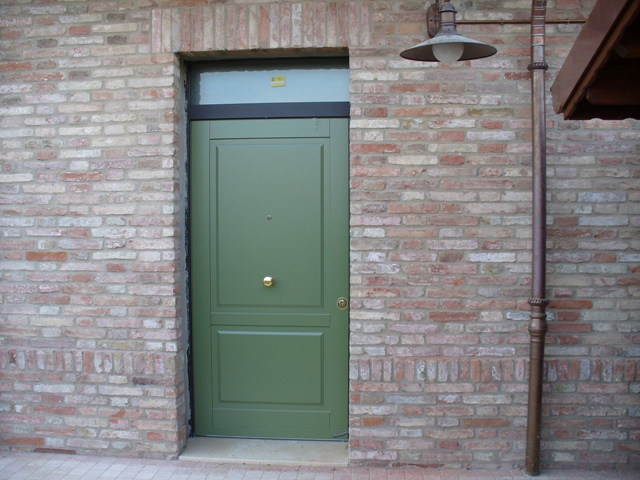 Porte blindate tecnofinestra - Sopraluce porta ...