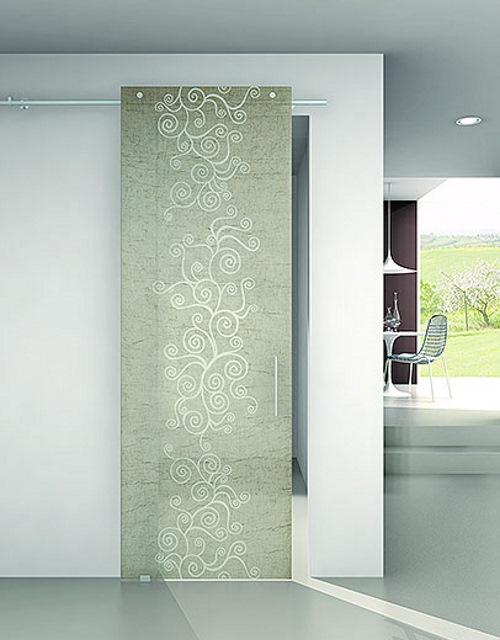 Porte in vetro modena porte per interni e porte moderne tecnofinestra - Porte d interni moderne ...