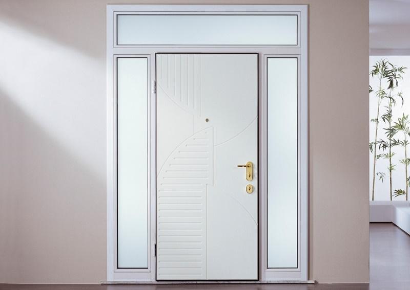 Porte blindate tecnofinestra - Ingresso garage ...