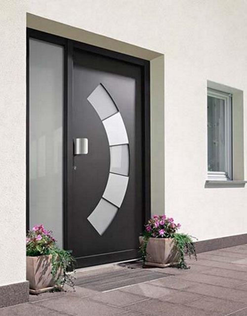 Porte d 39 ingresso tecnofinestra - Porte ingresso vetro ...